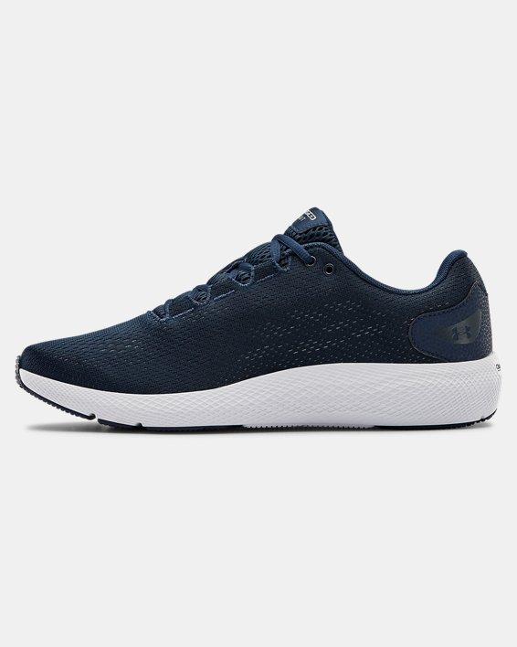 Men's UA Charged Pursuit 2 Running Shoes, Navy, pdpMainDesktop image number 1