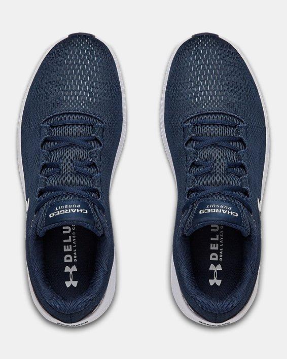 Men's UA Charged Pursuit 2 Running Shoes, Navy, pdpMainDesktop image number 2