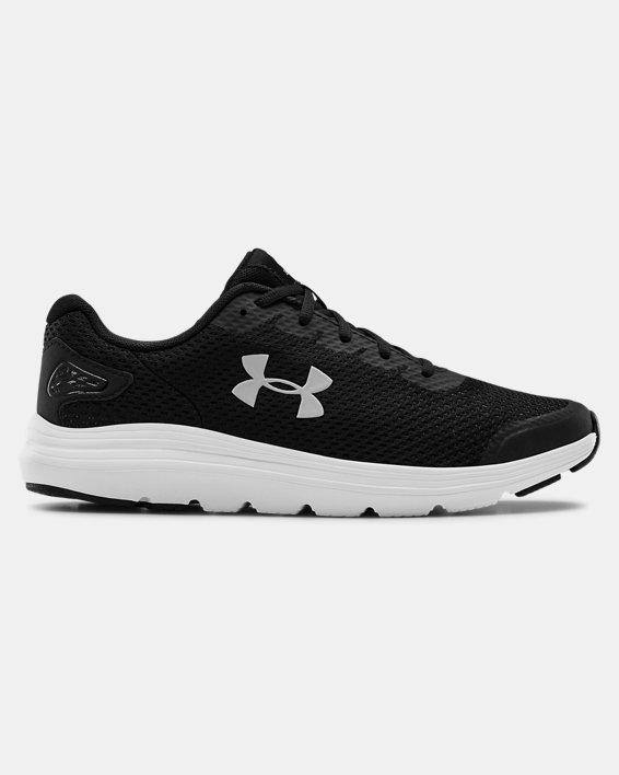 Men's UA Surge 2 Running Shoes, Black, pdpMainDesktop image number 0