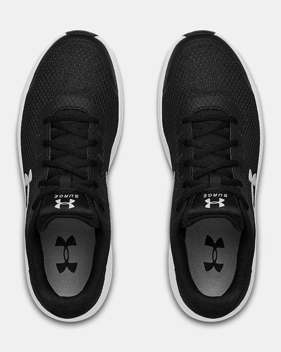 Men's UA Surge 2 Running Shoes, Black, pdpMainDesktop image number 3