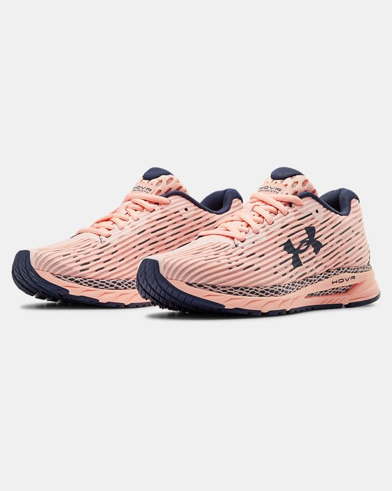Women's UA HOVR™ Velociti 3 Running Shoes, Orange, pdpMainDesktop image number 3