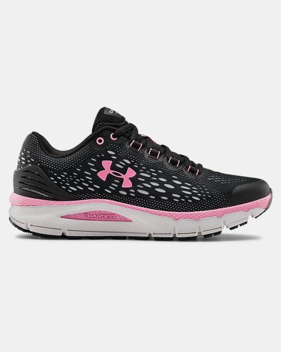 Women's UA Charged Intake 4 Running Shoes, Black, pdpMainDesktop image number 0