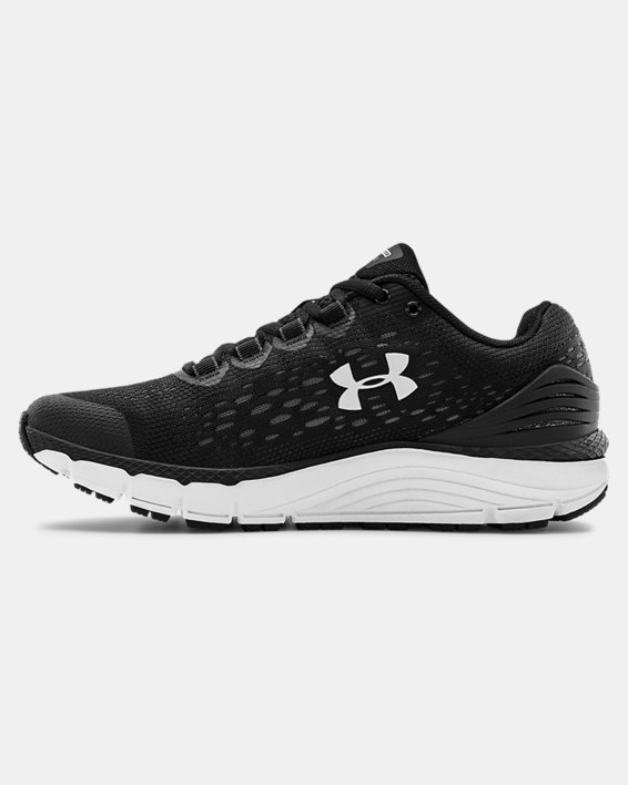Women's UA Charged Intake 4 Running Shoes, Black, pdpMainDesktop image number 1