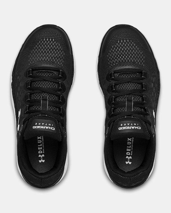 Women's UA Charged Intake 4 Running Shoes, Black, pdpMainDesktop image number 2