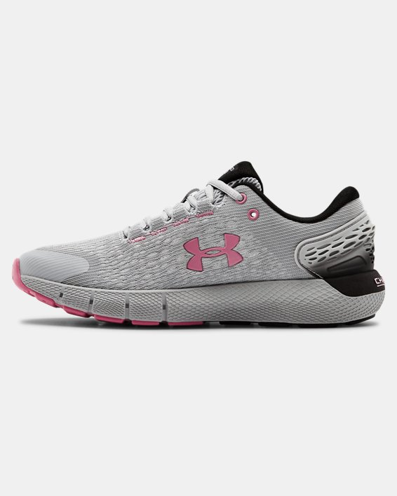 Women's UA Charged Rogue 2 Running Shoes, Gray, pdpMainDesktop image number 1