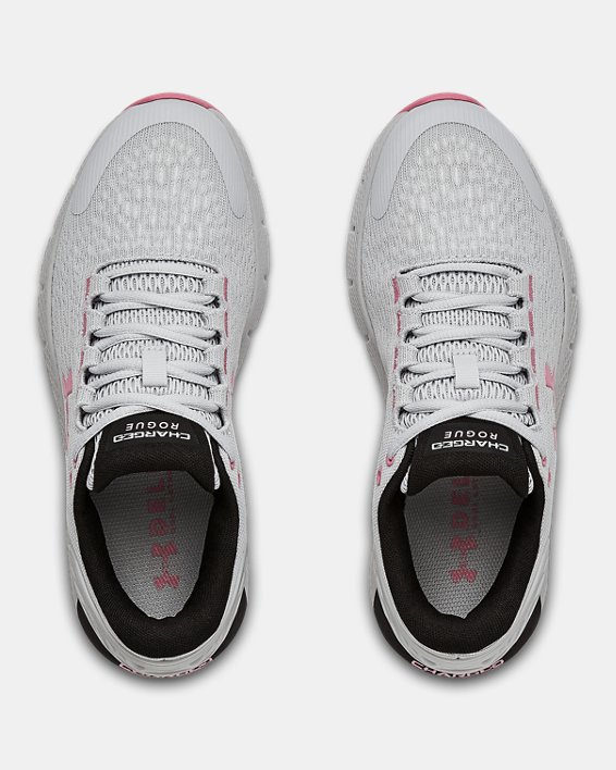 Women's UA Charged Rogue 2 Running Shoes, Gray, pdpMainDesktop image number 2