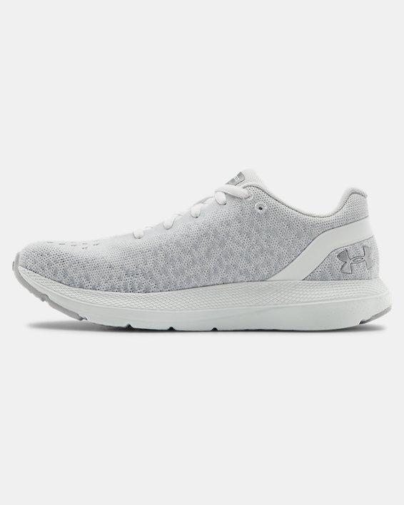 Women's UA Charged Impulse Knit Running Shoes, White, pdpMainDesktop image number 1