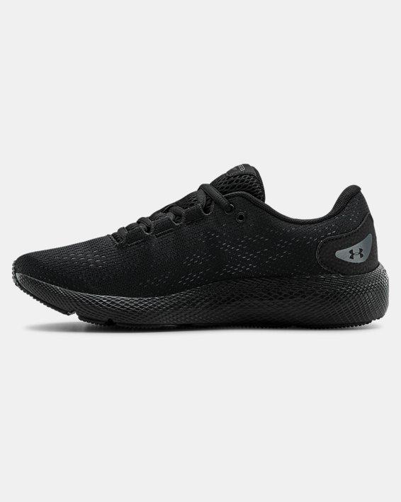 Women's UA Charged Pursuit 2 Running Shoes, Black, pdpMainDesktop image number 1