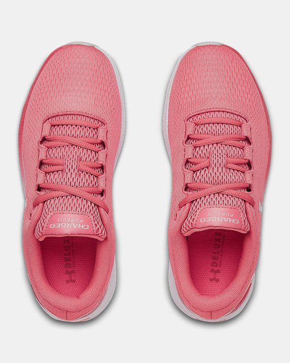 Women's UA Charged Pursuit 2 Running Shoes, Pink, pdpMainDesktop image number 2