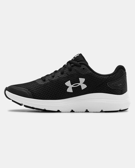 Women's UA Surge 2 Running Shoes, Black, pdpMainDesktop image number 1