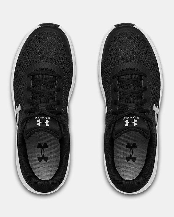 Women's UA Surge 2 Running Shoes, Black, pdpMainDesktop image number 2