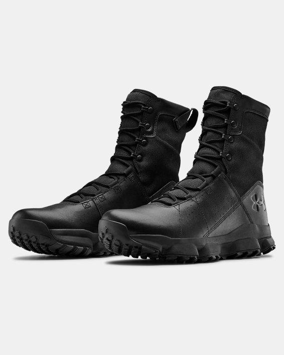 Men's UA Tac Loadout Boots, Black, pdpMainDesktop image number 3