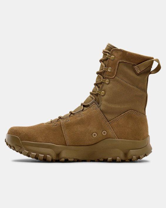 Men's UA Tac Loadout Boots, Brown, pdpMainDesktop image number 1