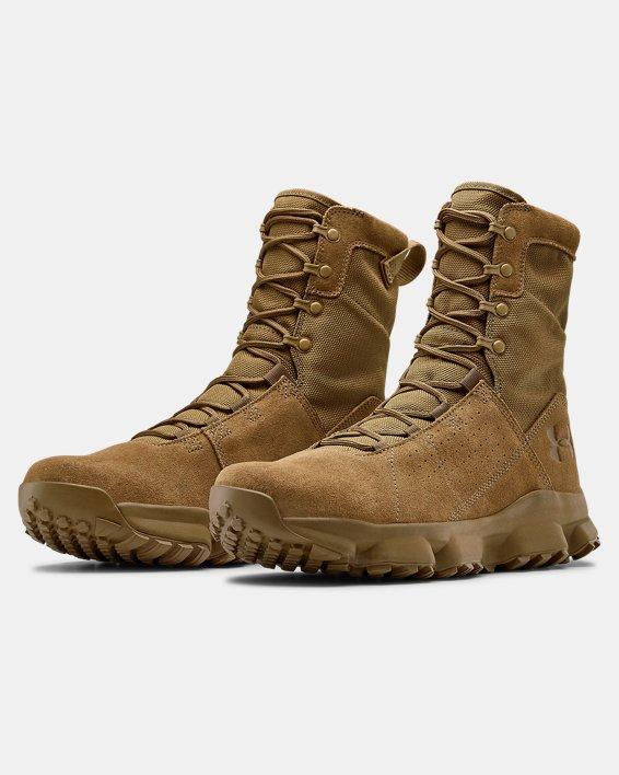 Men's UA Tac Loadout Boots, Brown, pdpMainDesktop image number 3