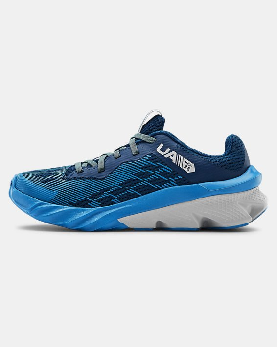 Boys' Pre-School UA Scramjet 3 Running Shoes, Blue, pdpMainDesktop image number 1