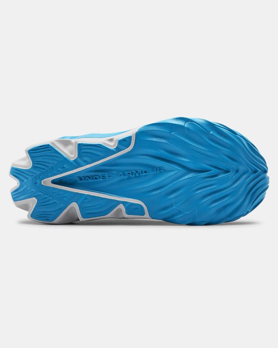 Boys' Pre-School UA Scramjet 3 Running Shoes, Blue, pdpMainDesktop image number 2