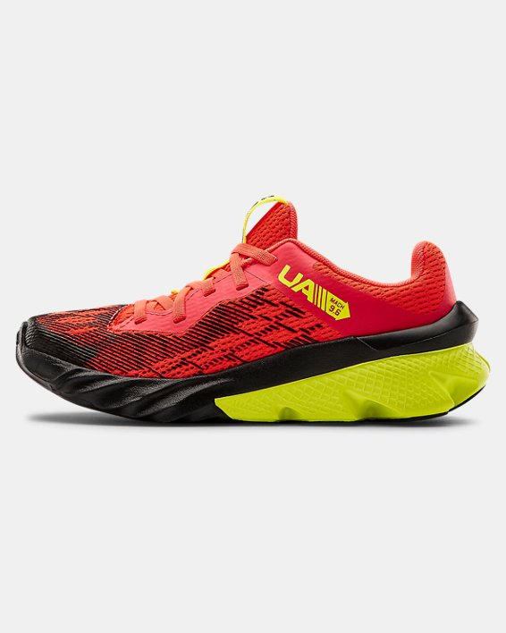 Boys' Pre-School UA Scramjet 3 Running Shoes, Red, pdpMainDesktop image number 1