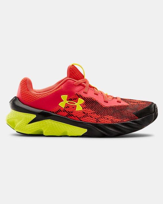 Boys' Pre-School UA Scramjet 3 Running Shoes, Red, pdpMainDesktop image number 0