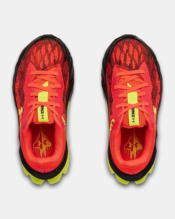 Boys' Pre-School UA Scramjet 3 Running Shoes, Red, pdpMainDesktop image number 3