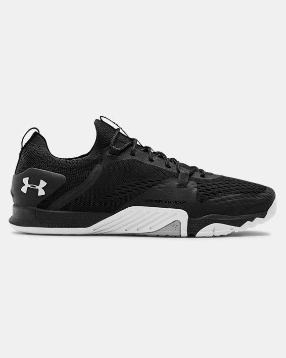 Men's UA TriBase™ Reign 2 Training Shoes, Black, pdpMainDesktop image number 0