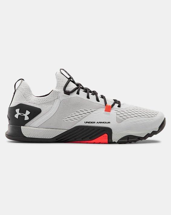 Men's UA TriBase™ Reign 2 Training Shoes, Gray, pdpMainDesktop image number 0