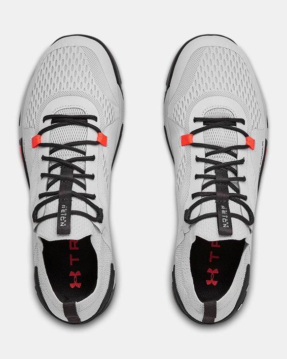 Men's UA TriBase™ Reign 2 Training Shoes, Gray, pdpMainDesktop image number 3
