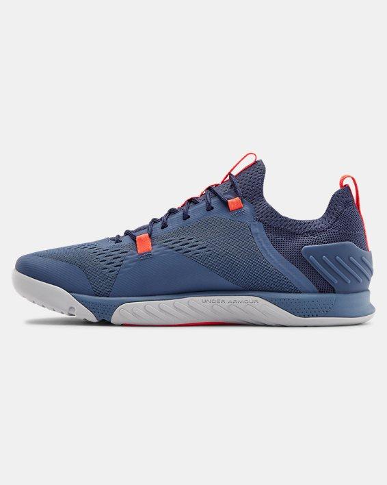 Men's UA TriBase™ Reign 2 Training Shoes, Blue, pdpMainDesktop image number 1