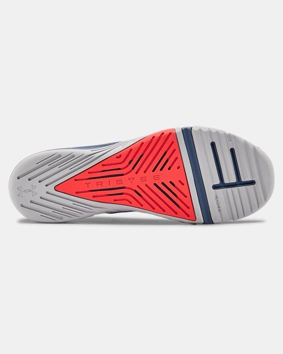 Men's UA TriBase™ Reign 2 Training Shoes, Blue, pdpMainDesktop image number 2