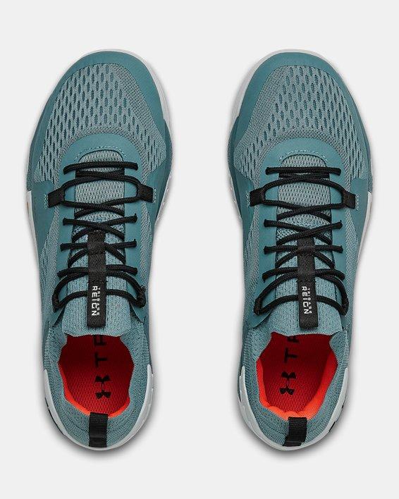 Men's UA TriBase™ Reign 2 Training Shoes, Blue, pdpMainDesktop image number 3