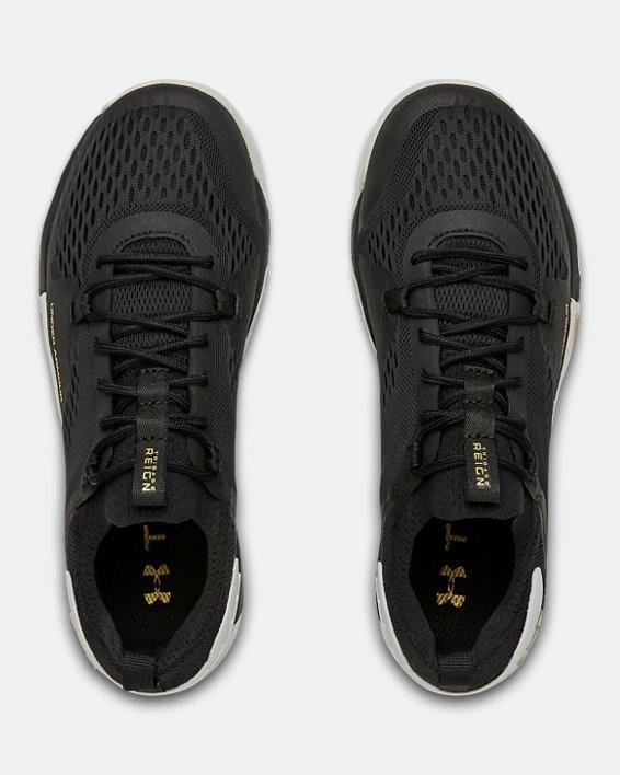Women's UA TriBase™ Reign 2 Training Shoes, Black, pdpMainDesktop image number 2