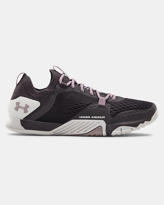 Women's UA TriBase™ Reign 2 Training Shoes, Purple, pdpMainDesktop image number 0