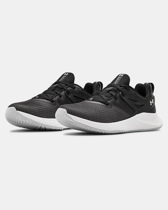Women's UA Charged Breathe TR 2 Training Shoes, Black, pdpMainDesktop image number 3