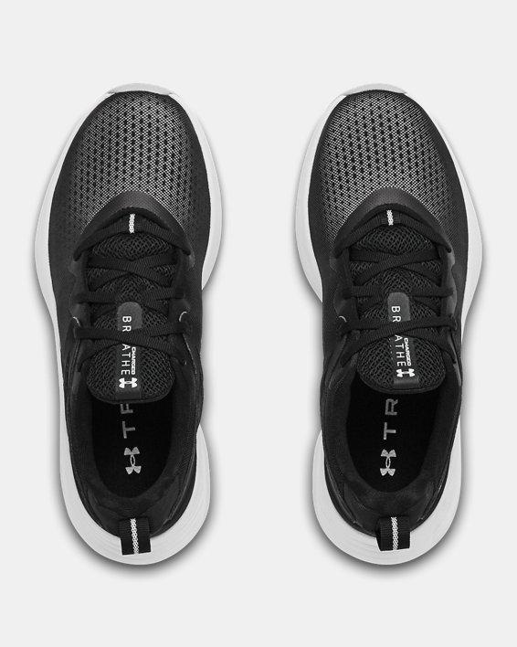 Women's UA Charged Breathe TR 2 Training Shoes, Black, pdpMainDesktop image number 2