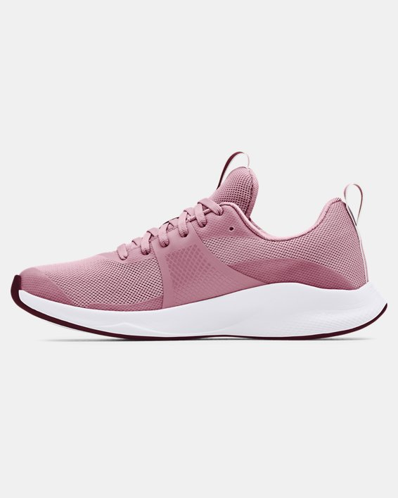 Women's UA Charged Aurora Training Shoes, Pink, pdpMainDesktop image number 1
