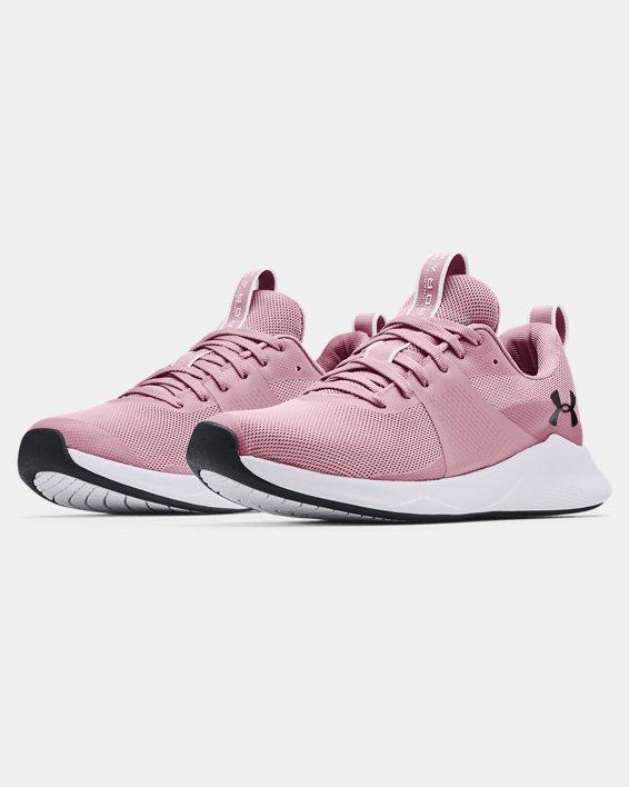 Women's UA Charged Aurora Training Shoes, Pink, pdpMainDesktop image number 3