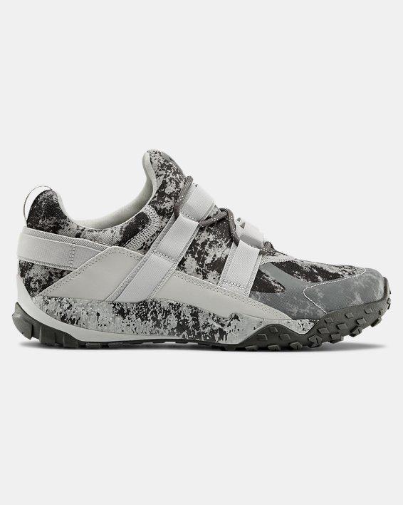 Unisex UA Valsetz Trek Disrupt Sportstyle Shoes, Gray, pdpMainDesktop image number 0