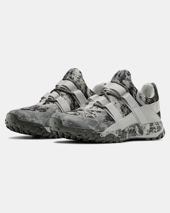 Unisex UA Valsetz Trek Disrupt Sportstyle Shoes, Gray, pdpMainDesktop image number 4