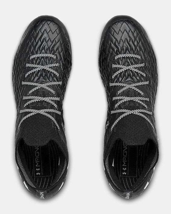 Men's UA Clone Magnetico Pro FG Soccer Cleats, Black, pdpMainDesktop image number 2