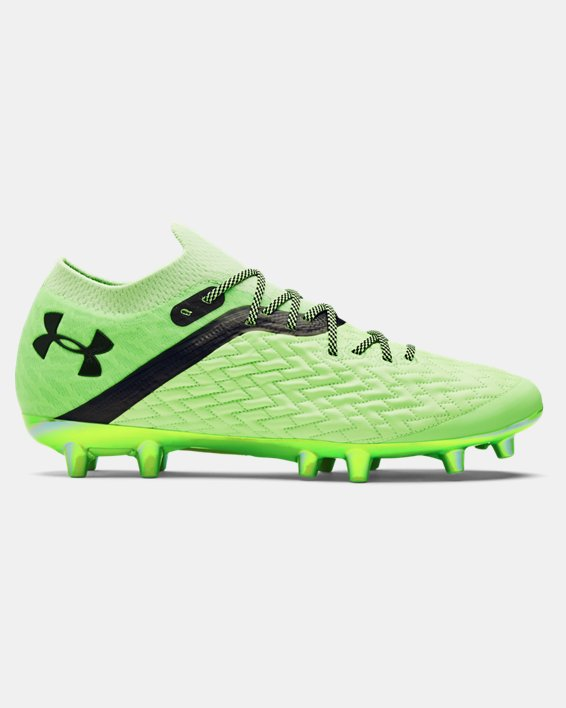Men's UA Clone Magnetico Pro FG Soccer Cleats, Green, pdpMainDesktop image number 0