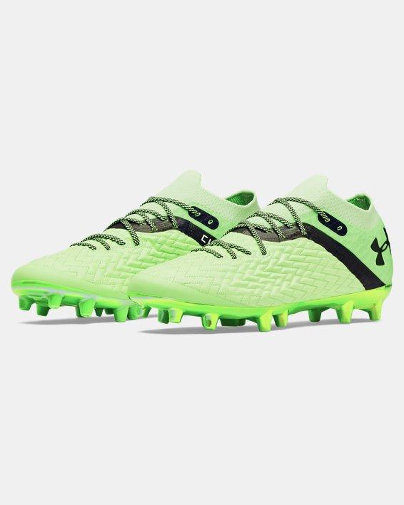Men's UA Clone Magnetico Pro FG Soccer Cleats, Green, pdpMainDesktop image number 3