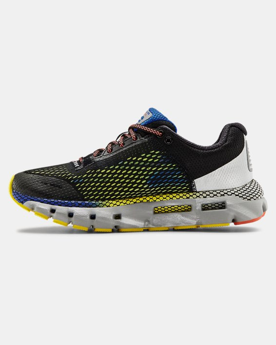 Women's UA HOVR™ Infinite City NYC Running Shoes, Black, pdpMainDesktop image number 2