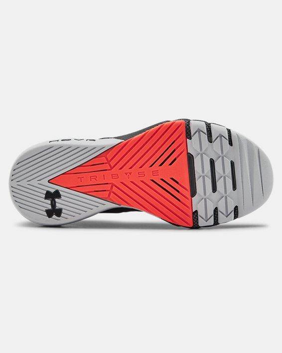 Grade School UA Project Rock 2 Training Shoes, Gray, pdpMainDesktop image number 4