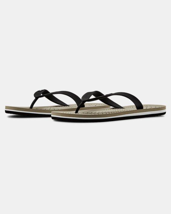 Men's UA Atlantic Dune Sandals, Brown, pdpMainDesktop image number 4