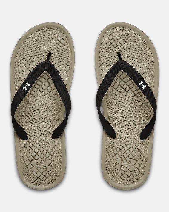 Men's UA Atlantic Dune Sandals, Brown, pdpMainDesktop image number 3