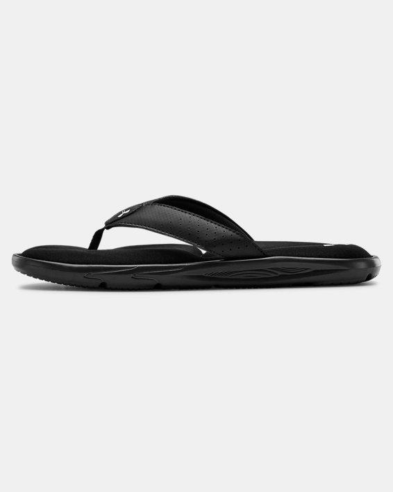 Men's UA Ignite III Sandals, Black, pdpMainDesktop image number 1