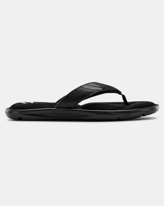 Men's UA Ignite III Sandals, Black, pdpMainDesktop image number 0