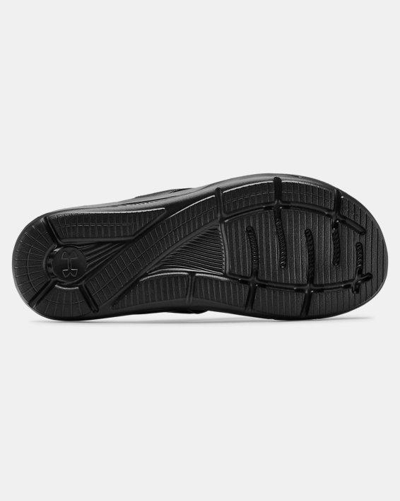 Men's UA Ignite III Sandals, Black, pdpMainDesktop image number 2