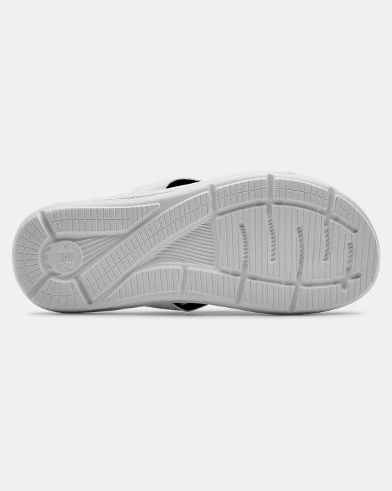 Men's UA Ignite III Sandals, White, pdpMainDesktop image number 2