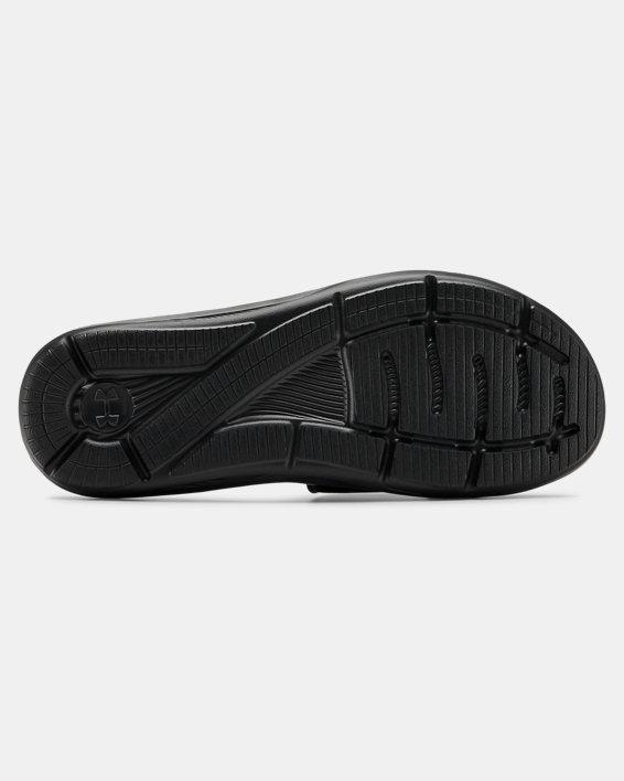 Men's UA Ignite VI Slides, Black, pdpMainDesktop image number 2