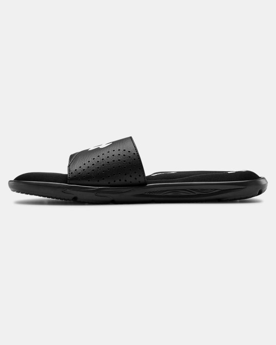 Men's UA Ignite VI Slides, Black, pdpMainDesktop image number 1